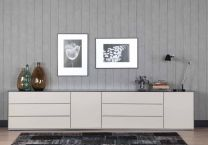 sideboard sonorous elements soft beige